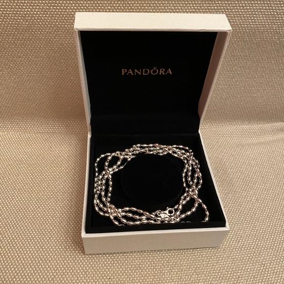 "Pandora | 39"" Polished Ball Chain Necklace"
